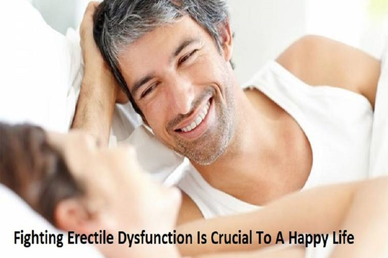 Fighting Erectile Dysfunction Is Crucial To a Happy Life